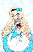 .:Alice in Wonderland:. by milkie-nommi
