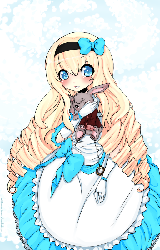 .:Alice in Wonderland:. by milkie-nommi on DeviantArt
