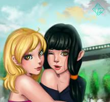 Mia and Tori by alexiafelix