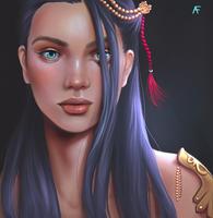 Amelia - OC by alexiafelix