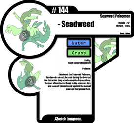 144-Seadweed by Sketch-Lampoon
