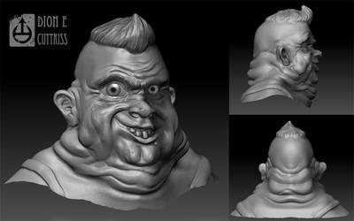 Bubba - 3D sketch