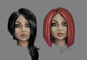 Face sketch prac