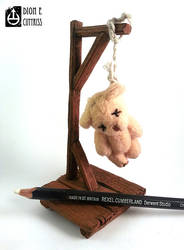 Mini ted hung by thadeemon
