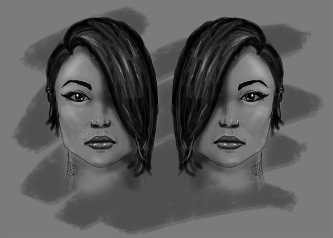 Female Sketch by thadeemon
