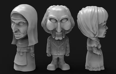 Horror 3D Models