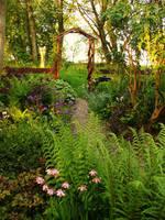 Cottage Garden by tartanink