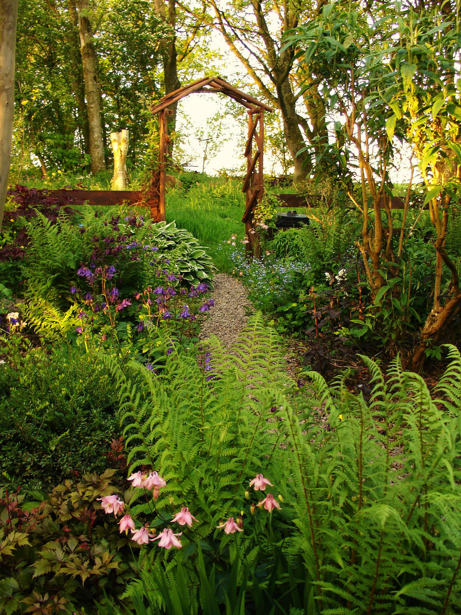 Woodland Cottage Garden