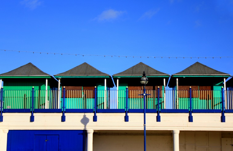 Beach Huts by tartanink