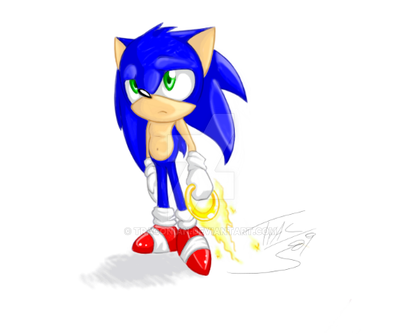 -Art Spots Sonic- by Traconian
