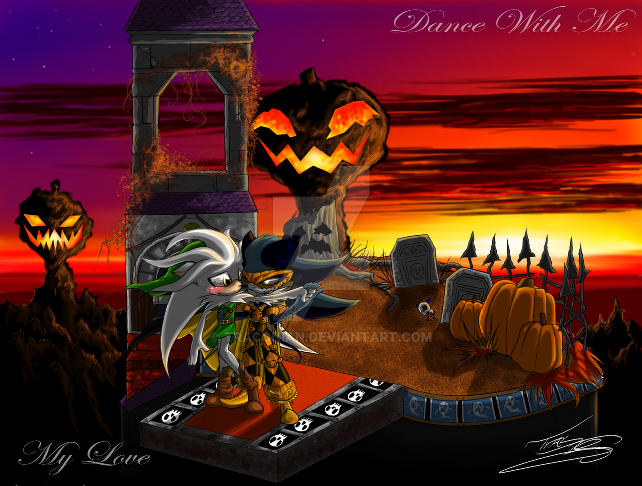 -Happy Halloween: Mephilver- by Traconian