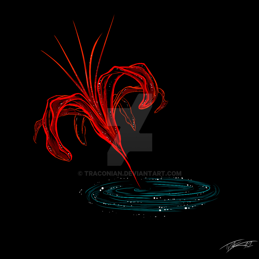 -Red Spider Lily- by Traconian on DeviantArt