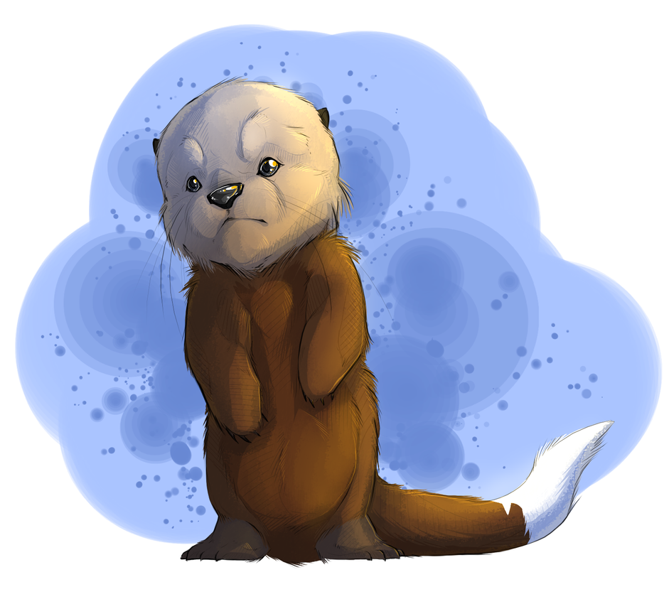 -Otter Sittin' Pretty- by Traconian