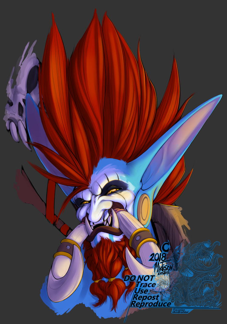 -Warchief: Vol'jin- by Traconian
