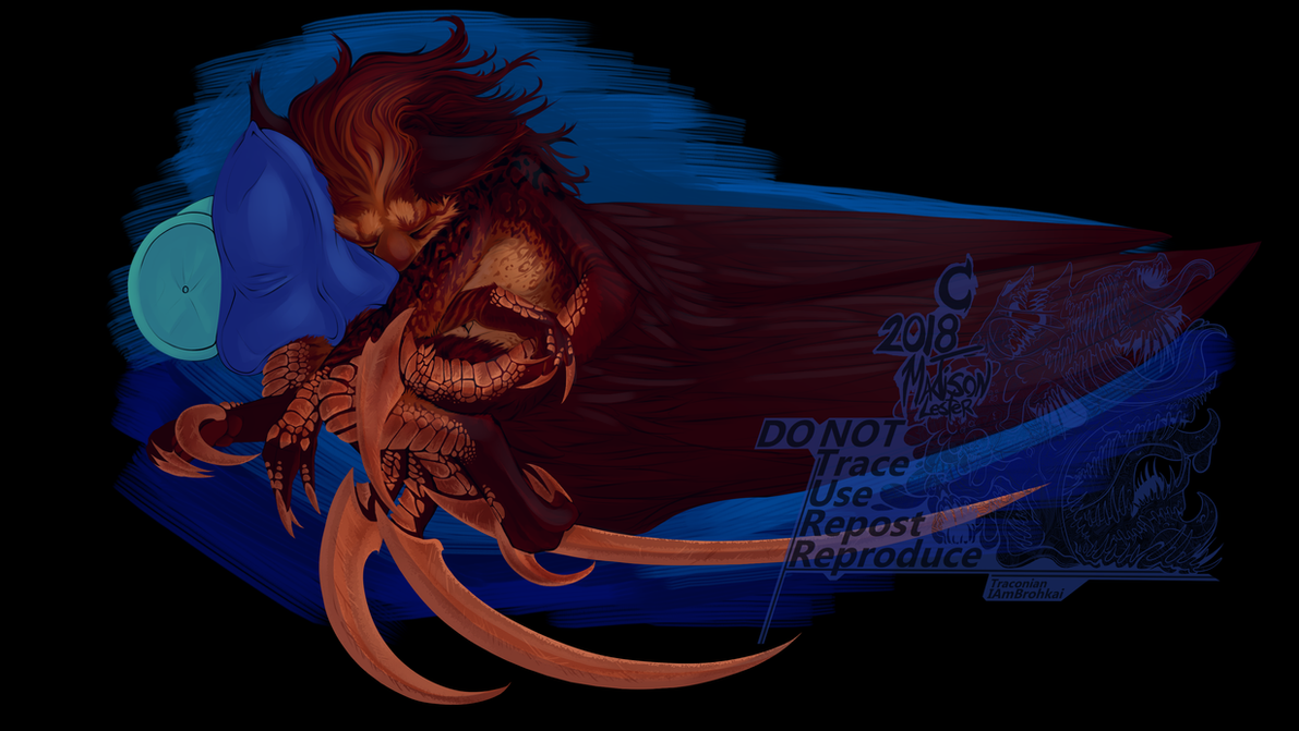 -Napping Demon- by Traconian