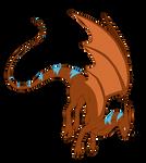 Dragon Cave- Whiptail Dragon