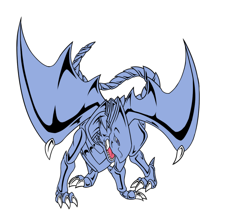 D.T.I.M-- Blue Eyes White Dragon by RedtheGamr on DeviantArt