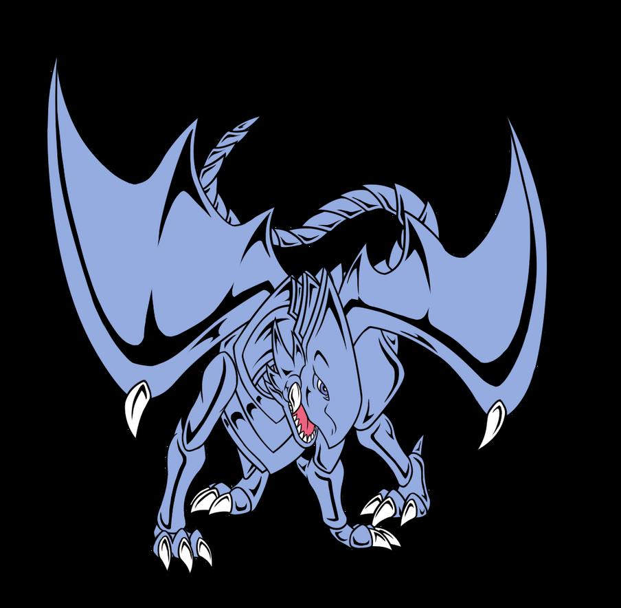 D.T.I.M-- Blue Eyes White Dragon by RedtheGamr on DeviantArt