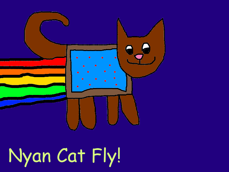 Nyan Cat Fly Unblocked Games