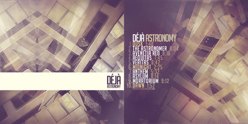 Deja - 'Astronomy' Spec Cover by Austin8159