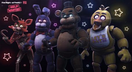 [SFM/ FNaF HW] The Classic Gang