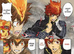 X Vongola and X Shimon