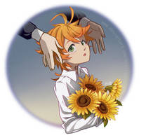 Sunflowers by Bletisan