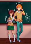 Aina and Heiko