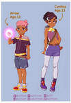 My OCs for She-Ra ver. 1
