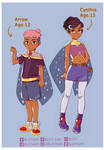 My OCs for She-Ra ver. 2