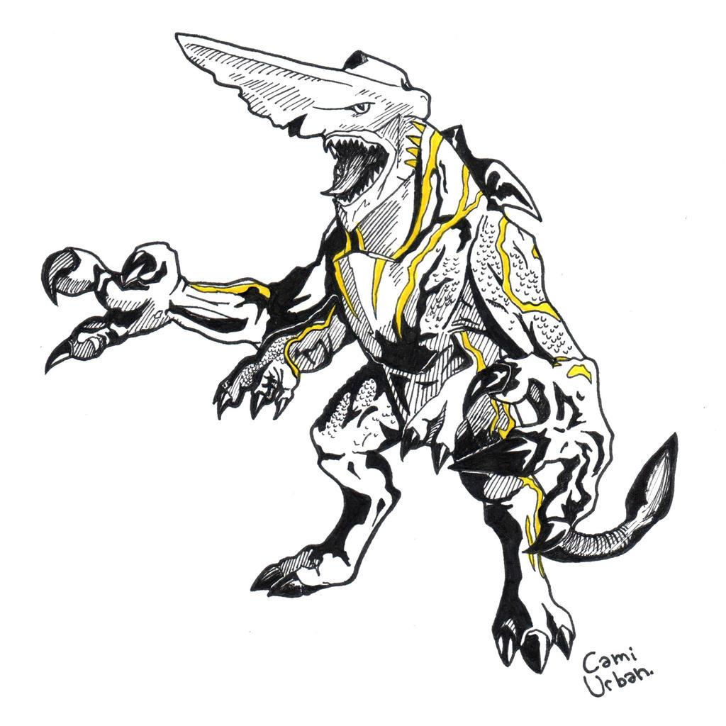 Pacific Rim Kaiju: Knifehead (finished) by camiurban on ...