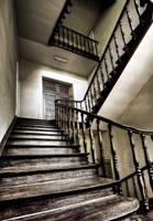 Wooden Stairs by stengchen