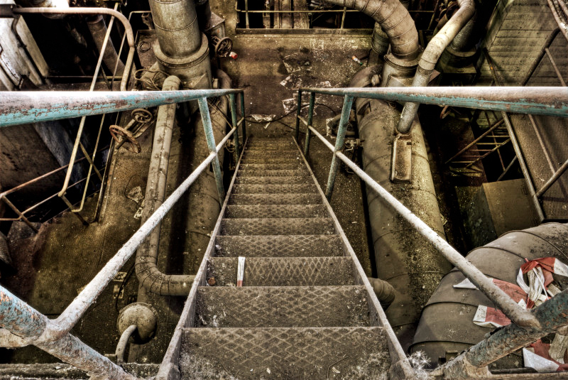 Industry Stairs by stengchen
