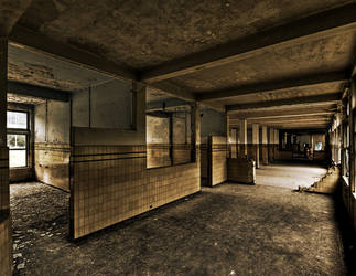 Corridor Of The Undead by stengchen