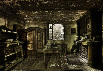 Ghost Diner by stengchen