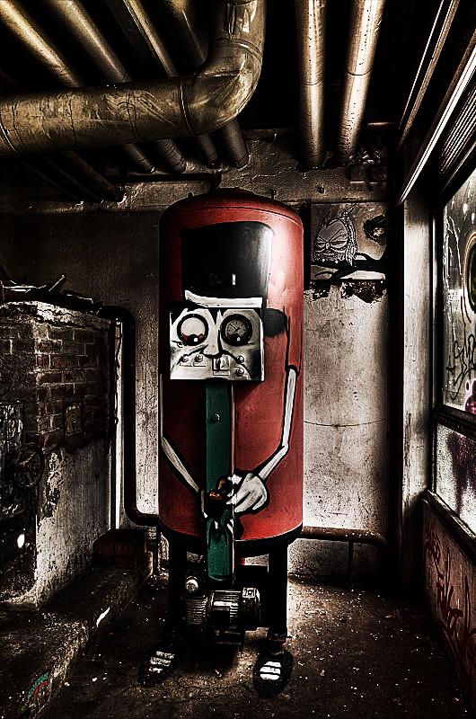 The Pyroman by stengchen