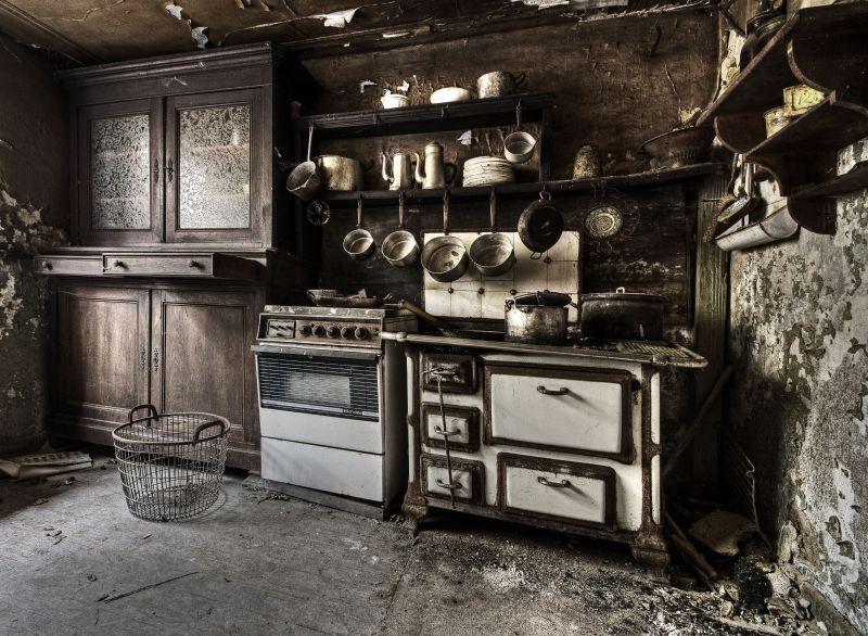 Old Kitchen by stengchen on DeviantArt