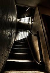 Haunted Stairs by stengchen