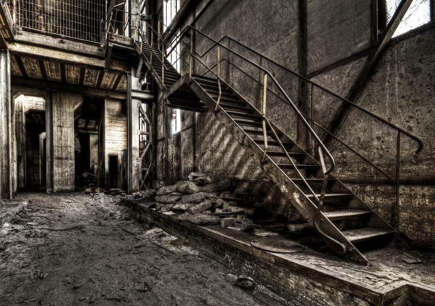 Steel Stairs by stengchen