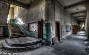 Uni Stairs by stengchen