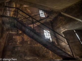 Rusty Stairs by stengchen