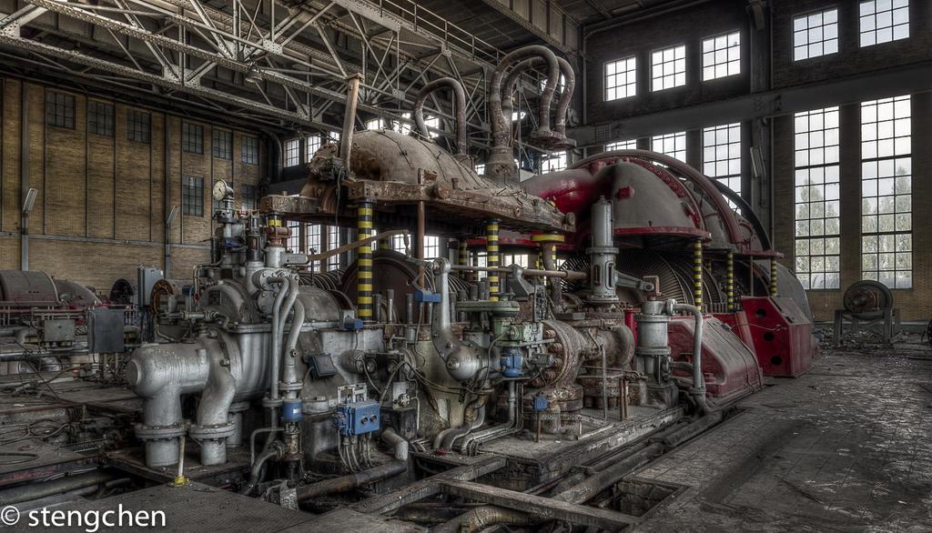 Big Bad Machine by stengchen