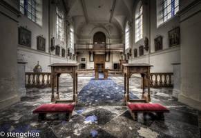 Straw Church by stengchen