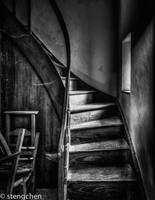 Dark Stairs by stengchen