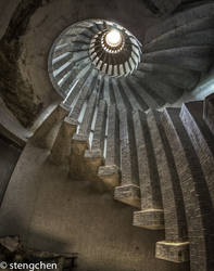Monster Stairs by stengchen