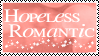 Hopeless Romantic Stamp by xxSnarky