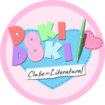DOKI DOKI PT-BR Logo - Clube de Literatura