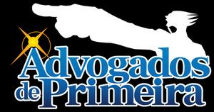 Ace Attorney PT-BR Logo - Advogados de Primeira