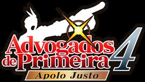 Apollo Justice AA PT-BR Logo - Apolo Justo