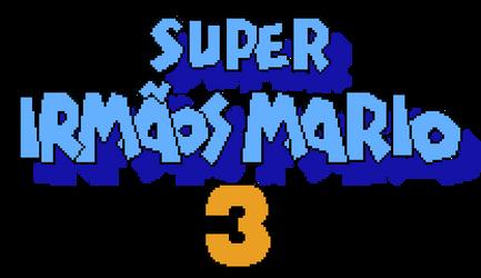 Super Mario Bros. 3 PT-BR Logo (INGAME)